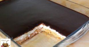 صور حلى سهل وسريع بالبسكويت , حلويات البسكويت سهله و لذيذه وشهية