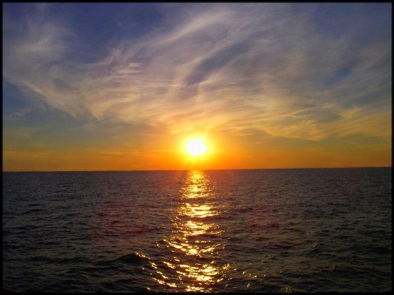 صور مناظر غروب رومانسيه , اجمل صور عند غياب الشمس