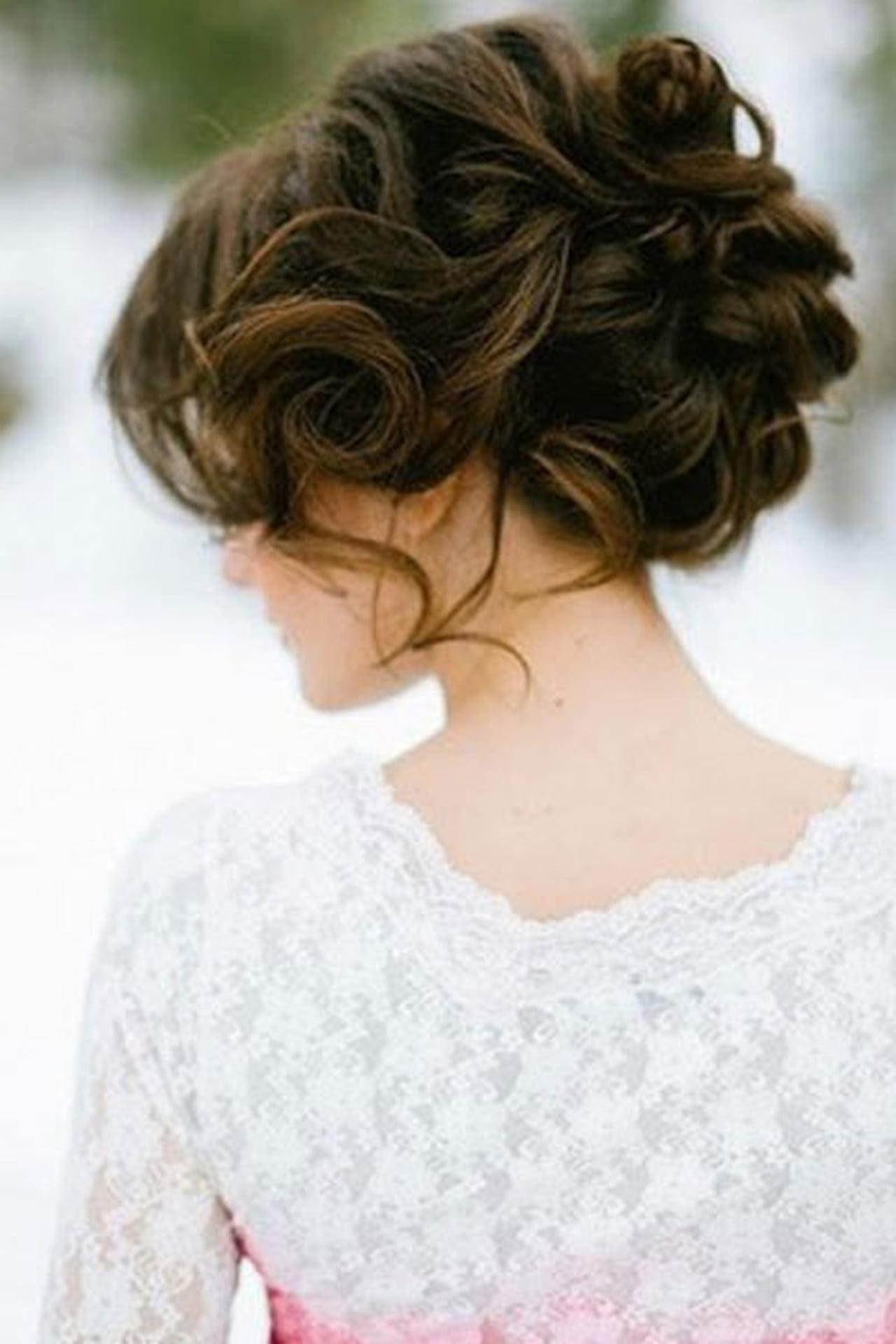 صور تسريحات الشعر المموج , اجدد تريحه للشعر المموج