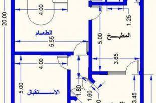 صورة خرائط بيوت 100 متر , استغلال مساحه ١٠٠ متر بذكاء