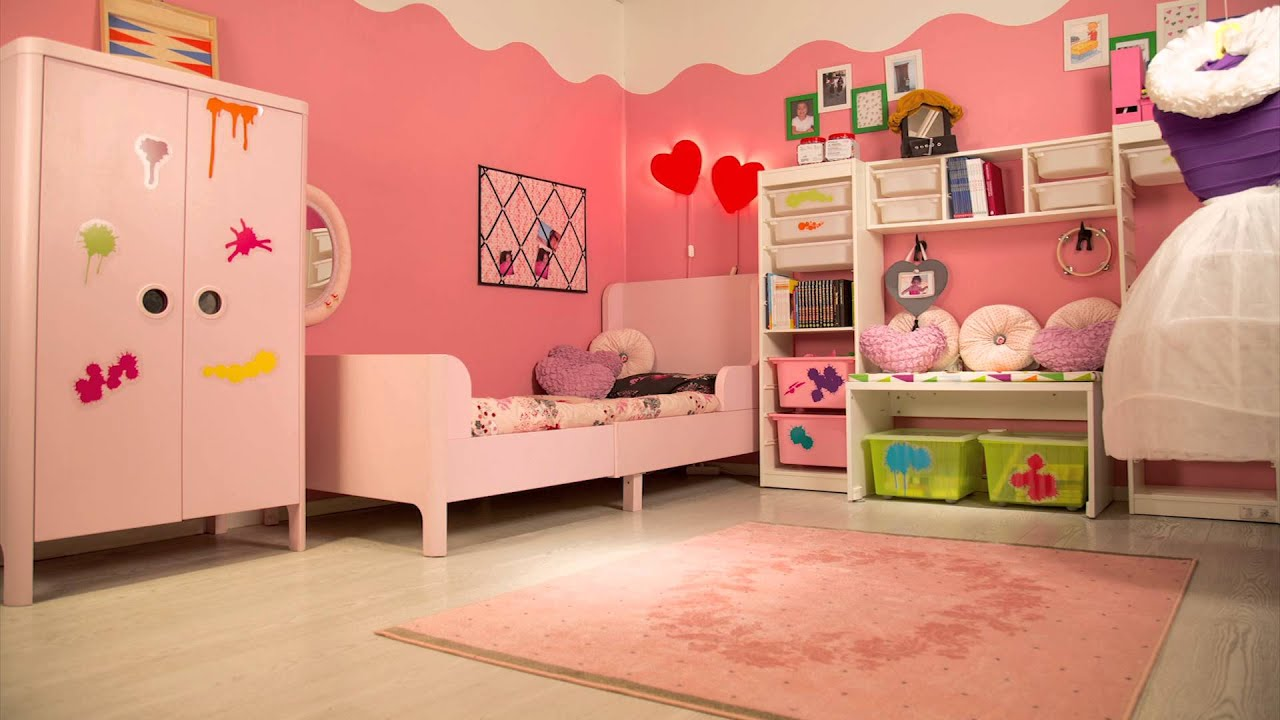 صورة غرف ايكيا بنات , احدث اثاث دلع غرف البنات