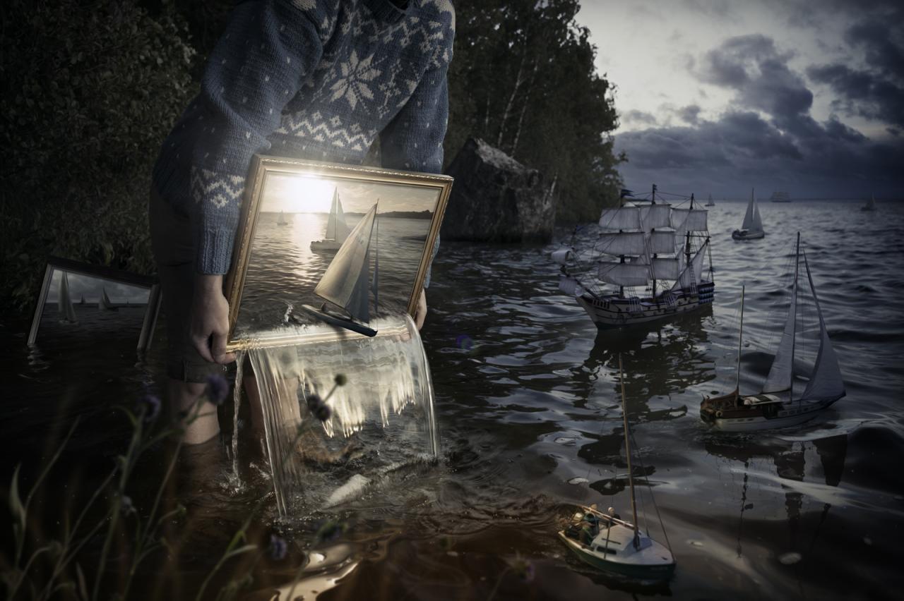 صورة اجمل صور خيالية , صور جديده ولا فى الخيال