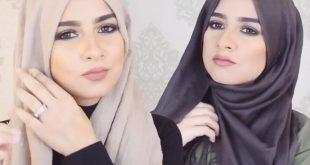 صورة طرق ربط الحجاب , لفات الحجاب بطريقه سهله وجديده
