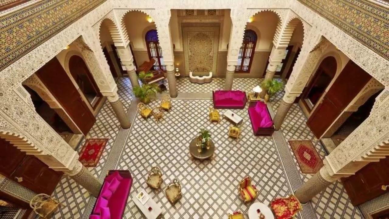 صورة ديكورات منازل مغربية , منزل مختلف بديكورات عصريه جميله