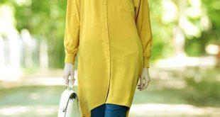 بالصور احدث موديلات القمصان النسائية للمحجبات , اجمل واجدد تشكيلات لملابس النساء 1274 10 310x165