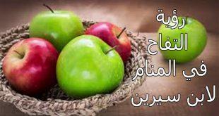بالصور تفسير رؤيا التفاح , التفاح وتفسيره للرائي فى المنام 1277 3 310x165