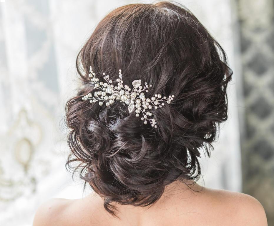 صورة تسريحات شعر للعروس , اجمل التسريحات الجديده للعرائس
