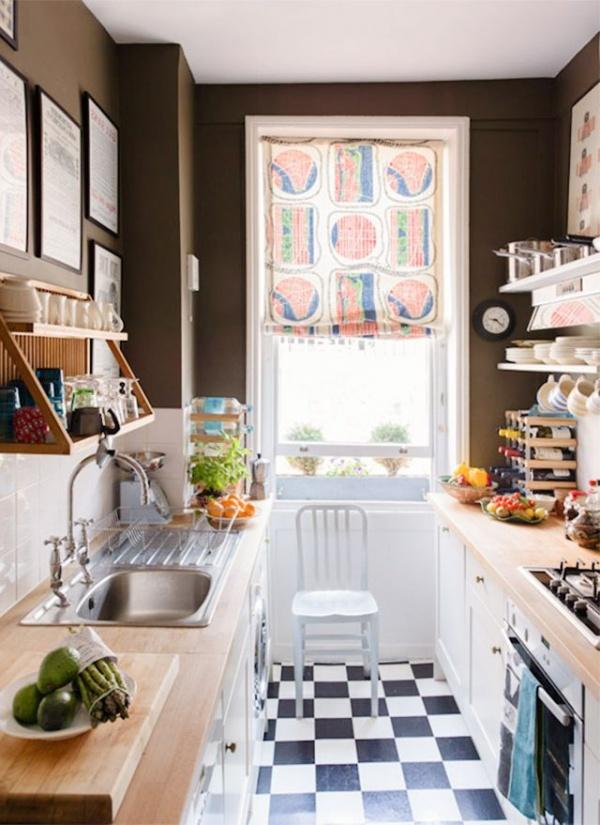 صورة صور مطابخ مودرن صغيره , اصغر مطبخ وترتيبه ببساطه ويعطى اتساع
