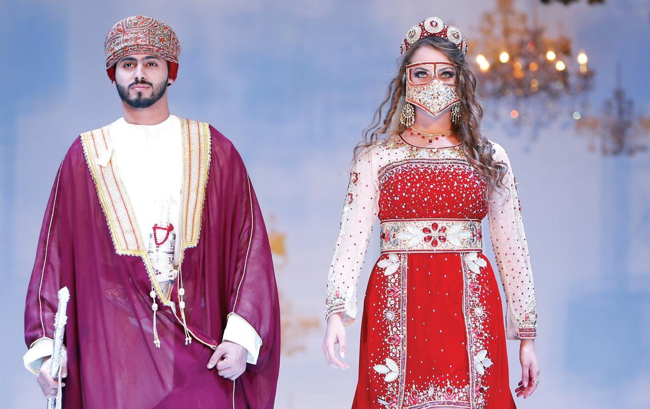 صورة اللبس العماني التقليدي , صور لملابس تخبل للبس العمانى