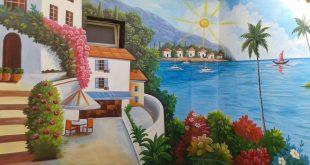 صورة رسم ع الجدران , الابداع والاختلاف فى الرسم على الجدران