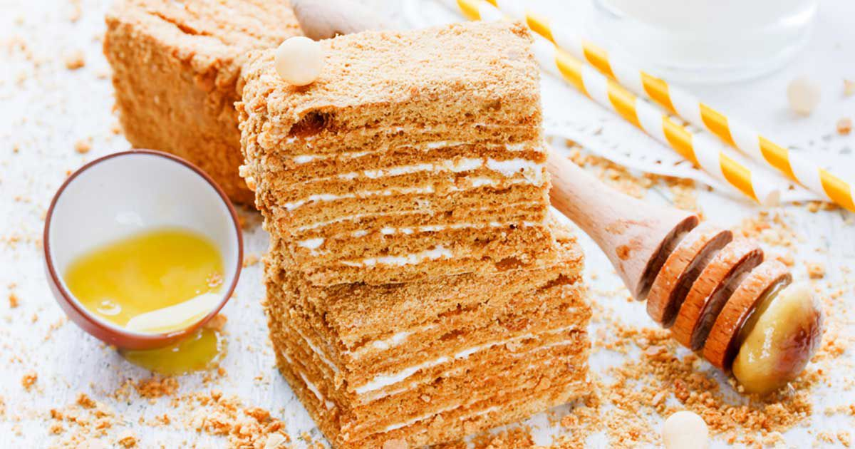 صور طريقة كيكة العسل , اجمل واسرع كيكه العسل