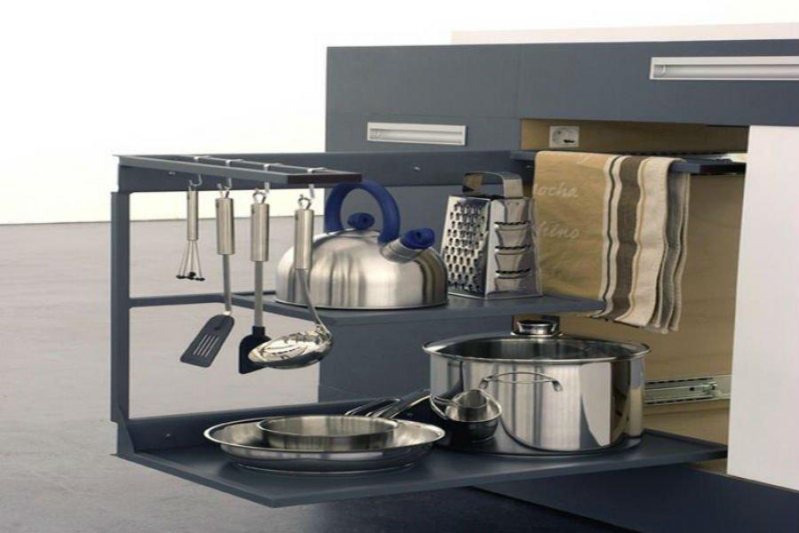 صورة ترتيب المطبخ الصغير بالصور , ديكور جديد لمطبخك يزيد اتساعه