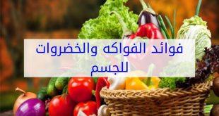 صور فوائد الفواكه والخضروات للجسم , ماهي فوائد الخضروات والفواكهه