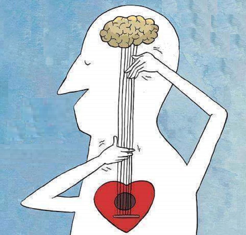 صورة العقل والقلب في الفلسفة , كله بيتفلسف حتى العقل والقلب