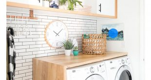 ترتيب غرفة الغسيل , افكار بسيطة لتظبيط اوضة الغسيل