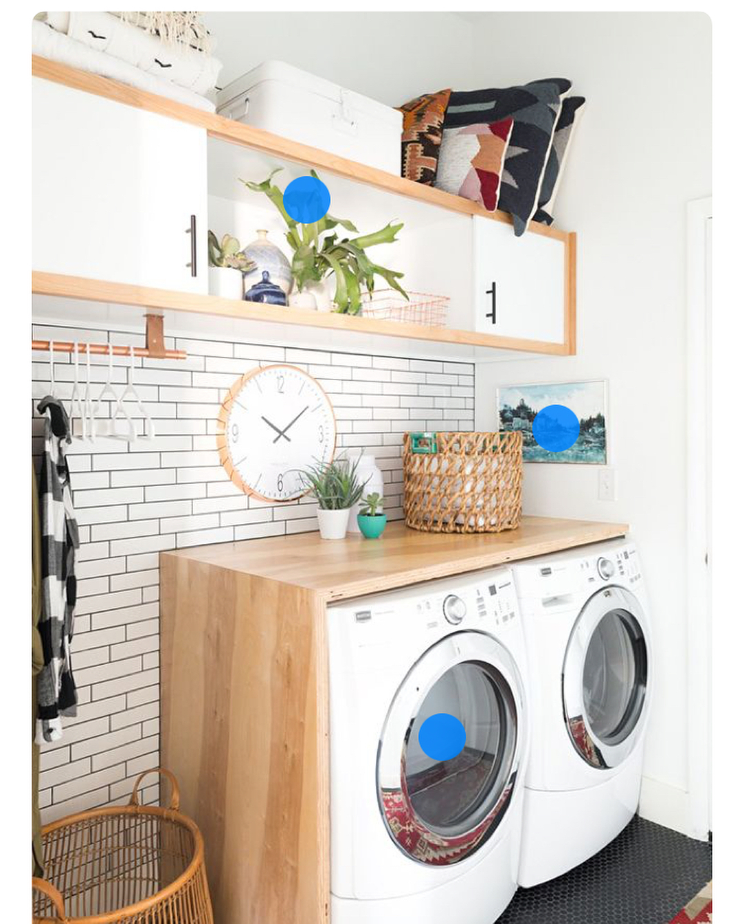 صورة ترتيب غرفة الغسيل , افكار بسيطة لتظبيط اوضة الغسيل