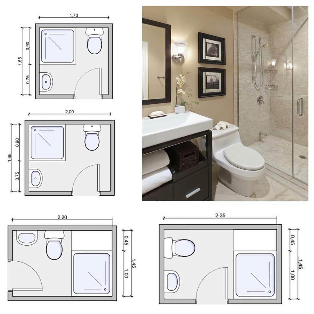 صورة ابعاد الحمامات القياسية , بالصور الابعاد القياسية للحمامات