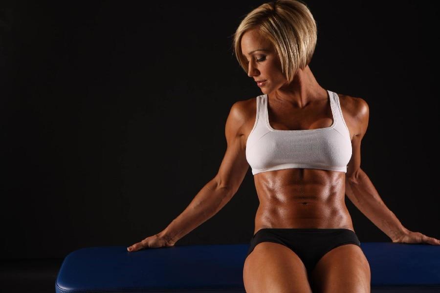 صور عضلات البطن للنساء , كيف تكونين عضلات البطن بتمارين بسيط جدا