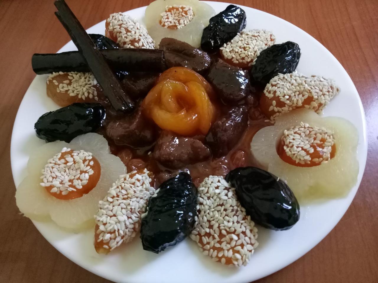صورة طاجين الحلو بدون لحم , طاجن الحلو الاقتصادي القرديحي جدا