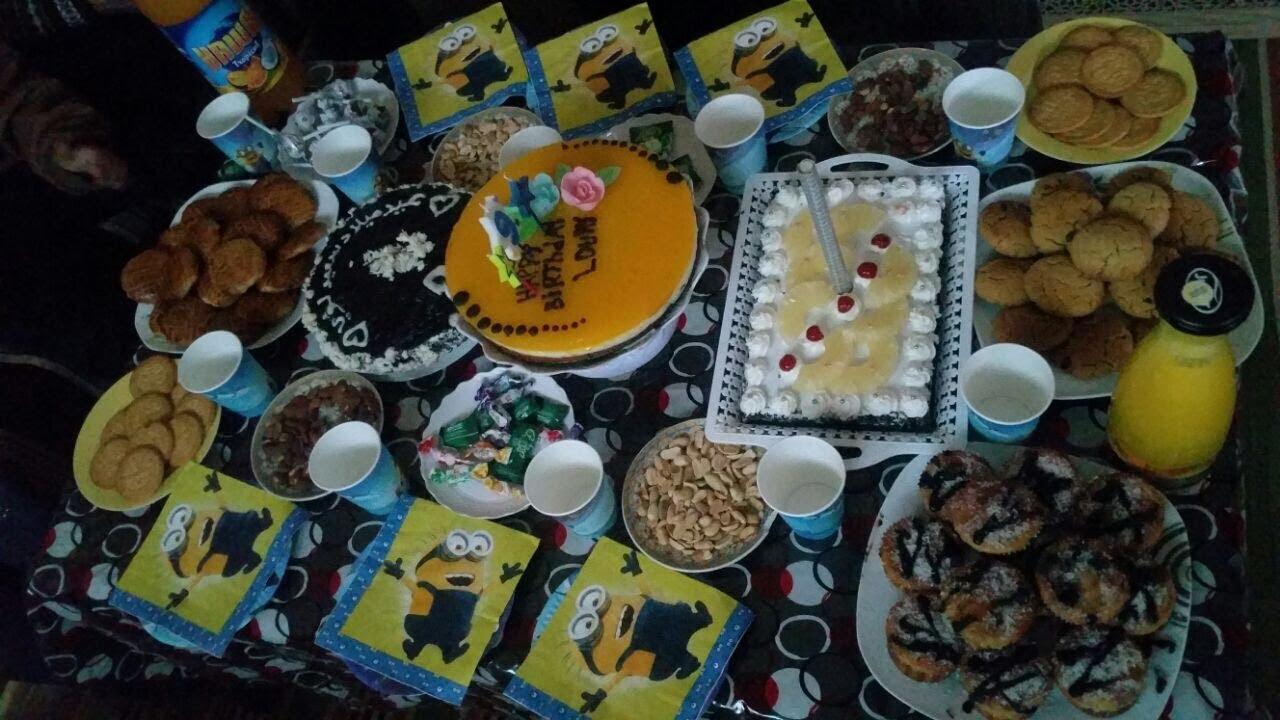 بالصور حفله عيد ميلاد في البيت , احلى عيد ميلاد في البيت والفة الاهل 3445 12