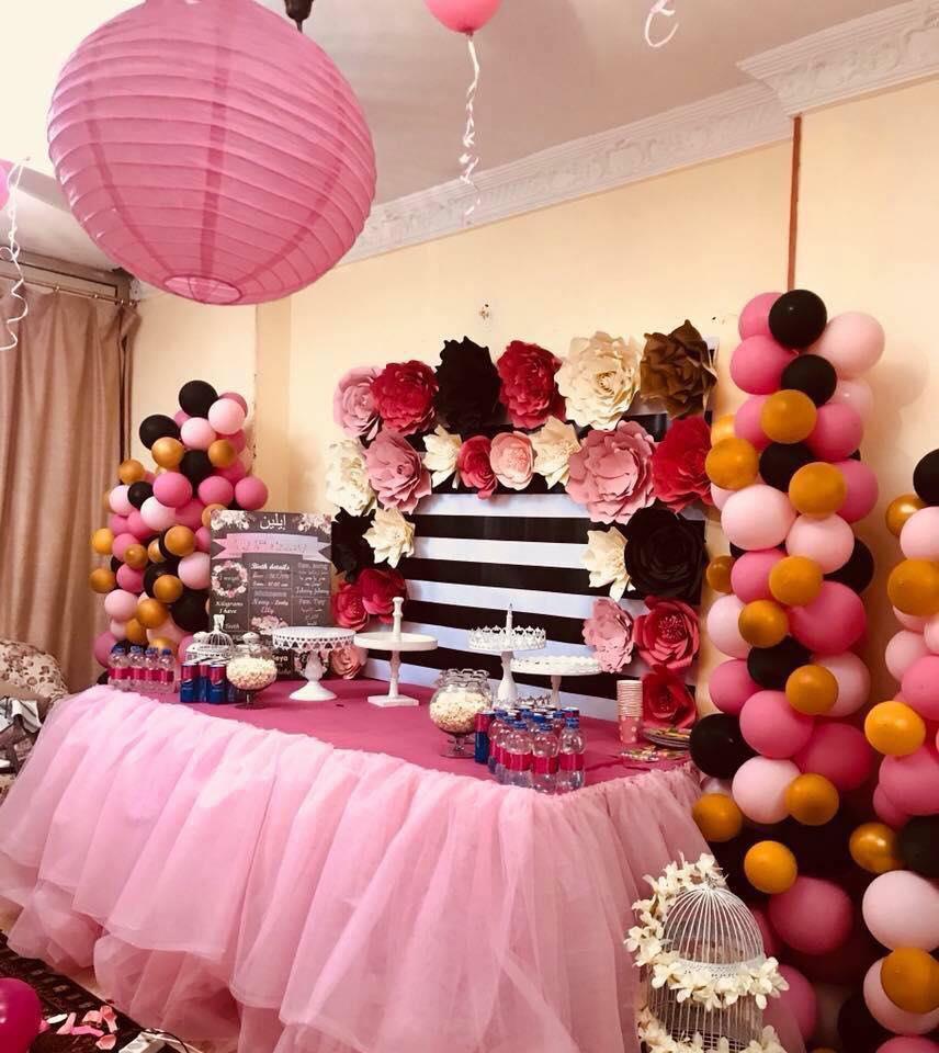 بالصور حفله عيد ميلاد في البيت , احلى عيد ميلاد في البيت والفة الاهل 3445 5