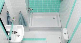 صورة ديكورات الحمامات المنزلية الصغيرة , لو حمامك صغير ما تحتاريش اروع الديكورات للحمات الصغيرة