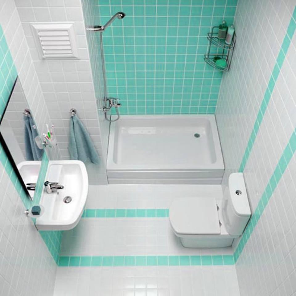 ديكورات الحمامات المنزلية الصغيرة , لو حمامك صغير ما