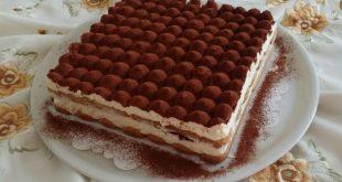 صور كيفية تحضير تيراميسو , طريقة صنع حلوى التيراميسو الايطالي