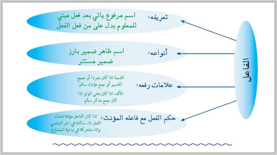 صورة بحث عن الفاعل ونائب الفاعل , معلومات في نحو اللغه العربيه