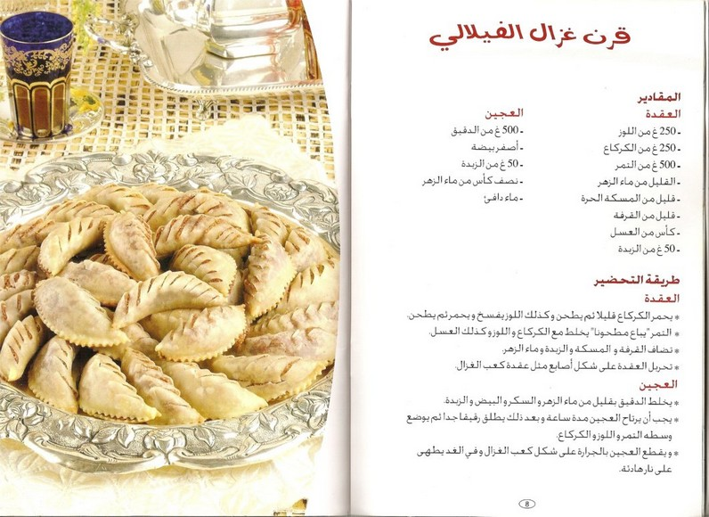 صورة حلويات جزائرية بالصور سهلة التحضير , اجمل الحلويات