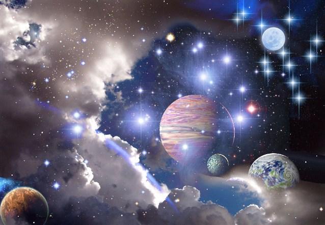 صورة رسالة من الكون , اجمل الرسائل عن الكون