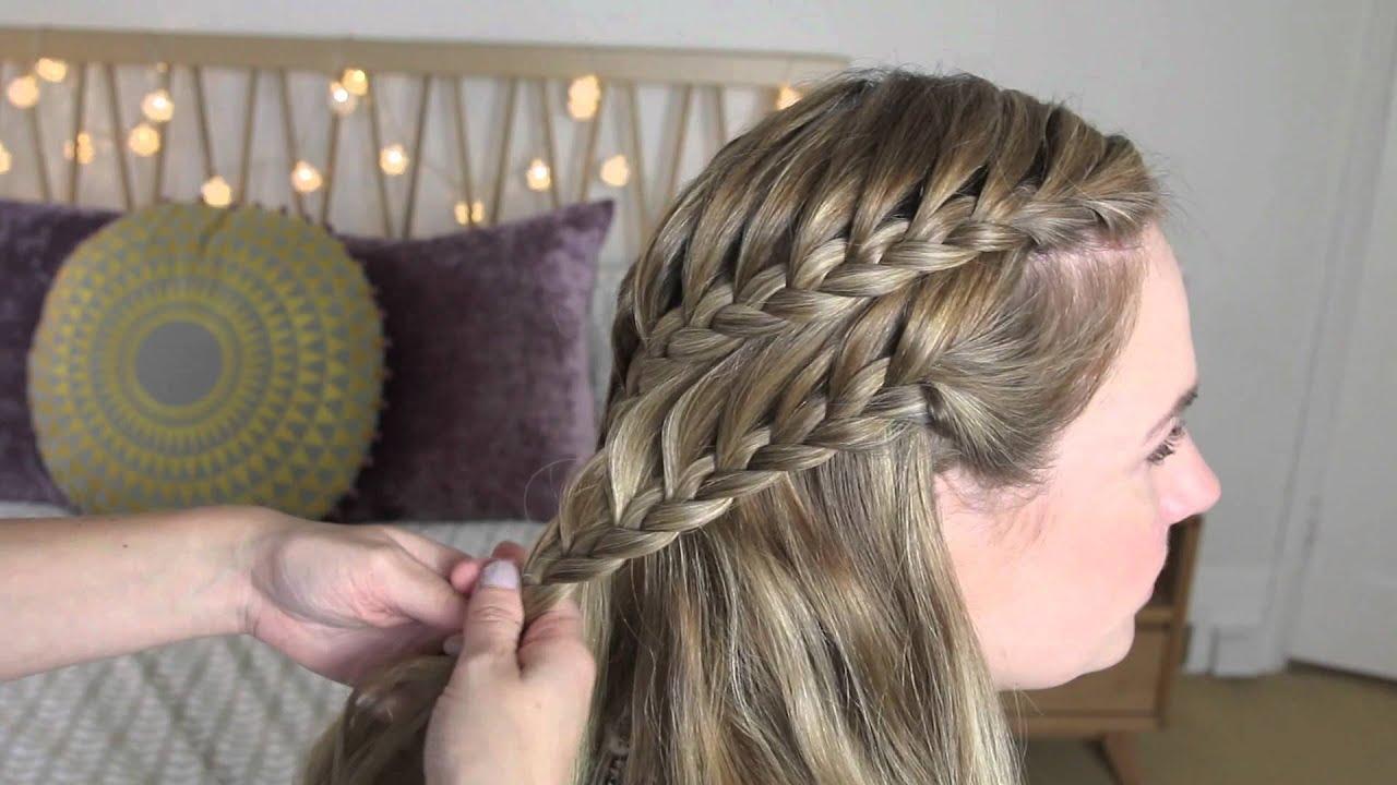 صورة طريقة تجديل الشعر اجمل طرق تسريحات للشعر