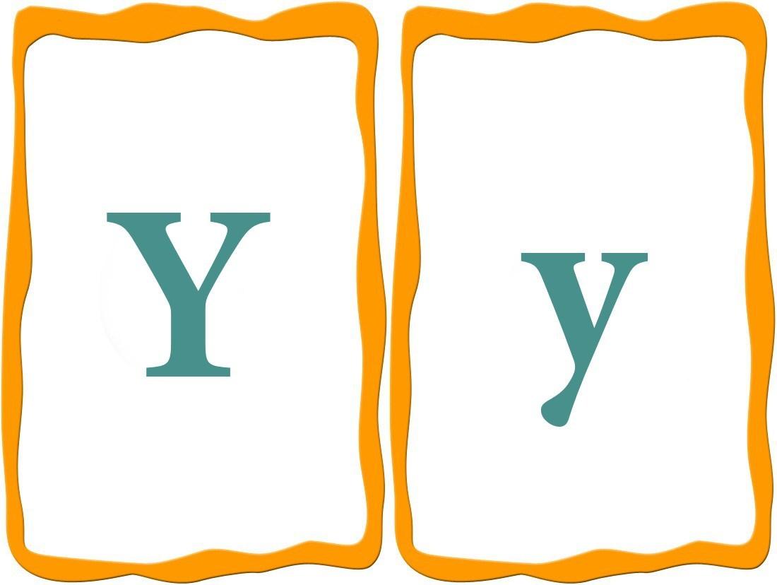 Letter Y English Worksheets