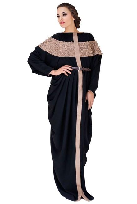 صور احلي عبايات في الكويت , عبايه من احدث التشكيلات