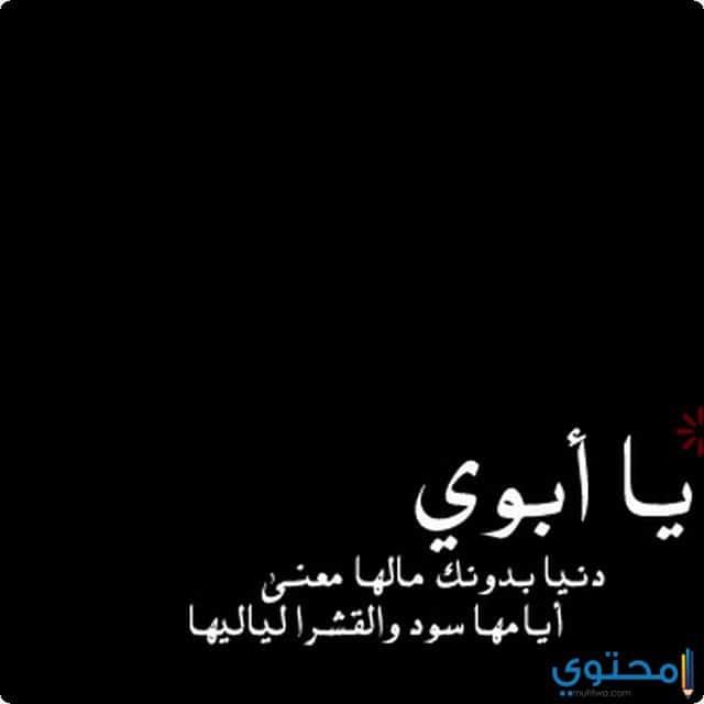 بالصور اشعار عن الاب حزينه , شعر حزين عن الاب 6749 3