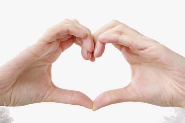 صور صور ايد على شكل قلب , صوره يد شكل قلب