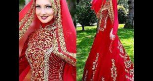 صور فساتين حنة للمحجبات , اروع واجمل الفساتين البسيطة