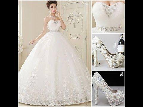 بالصور احلى فساتين للعروس , اروع واجمل انواع الفساتين الرقيقة 112 8