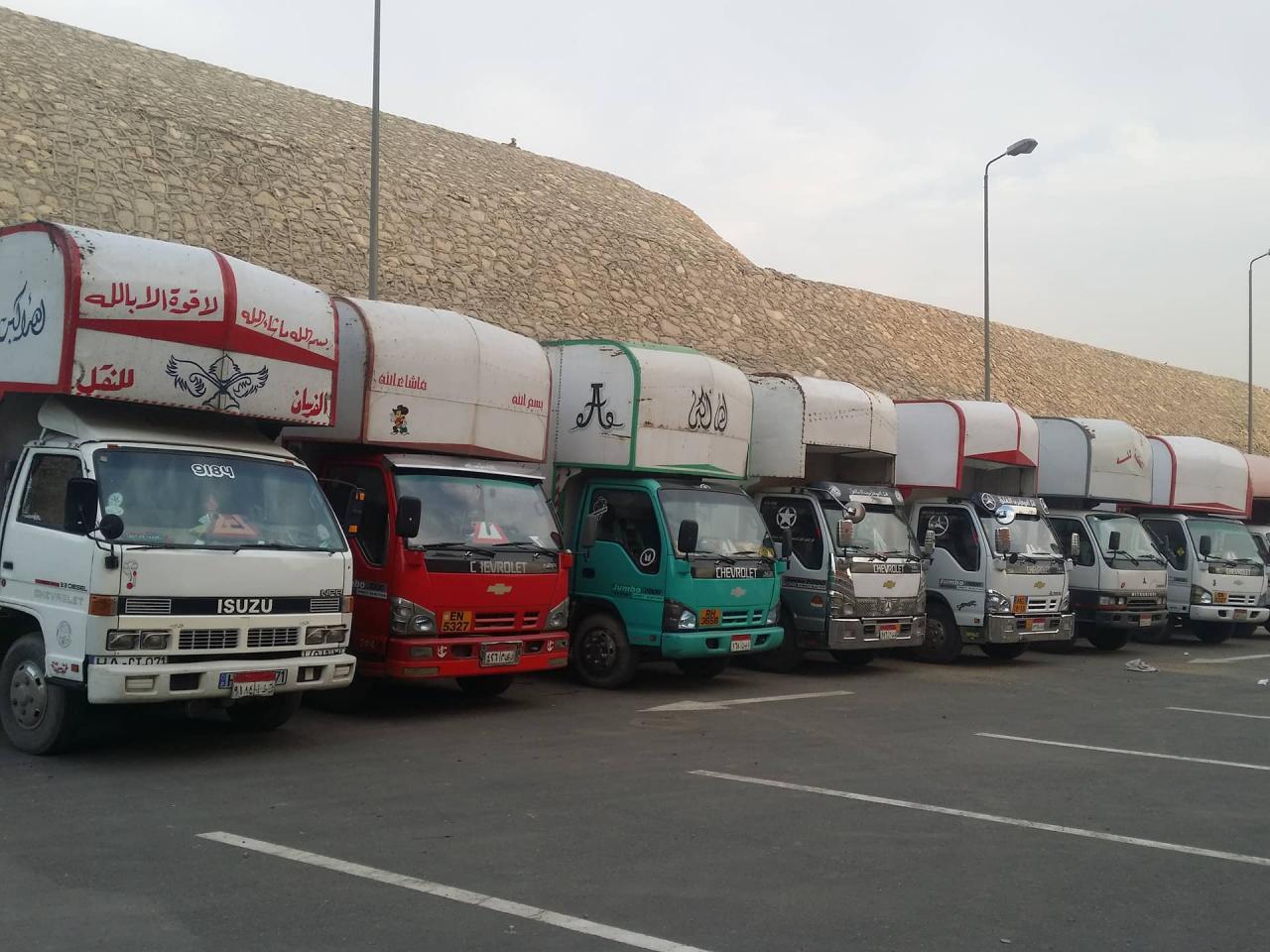 صور شركات نقل الاثاث , خدمات وشروط لشركات النقل والتوصيل