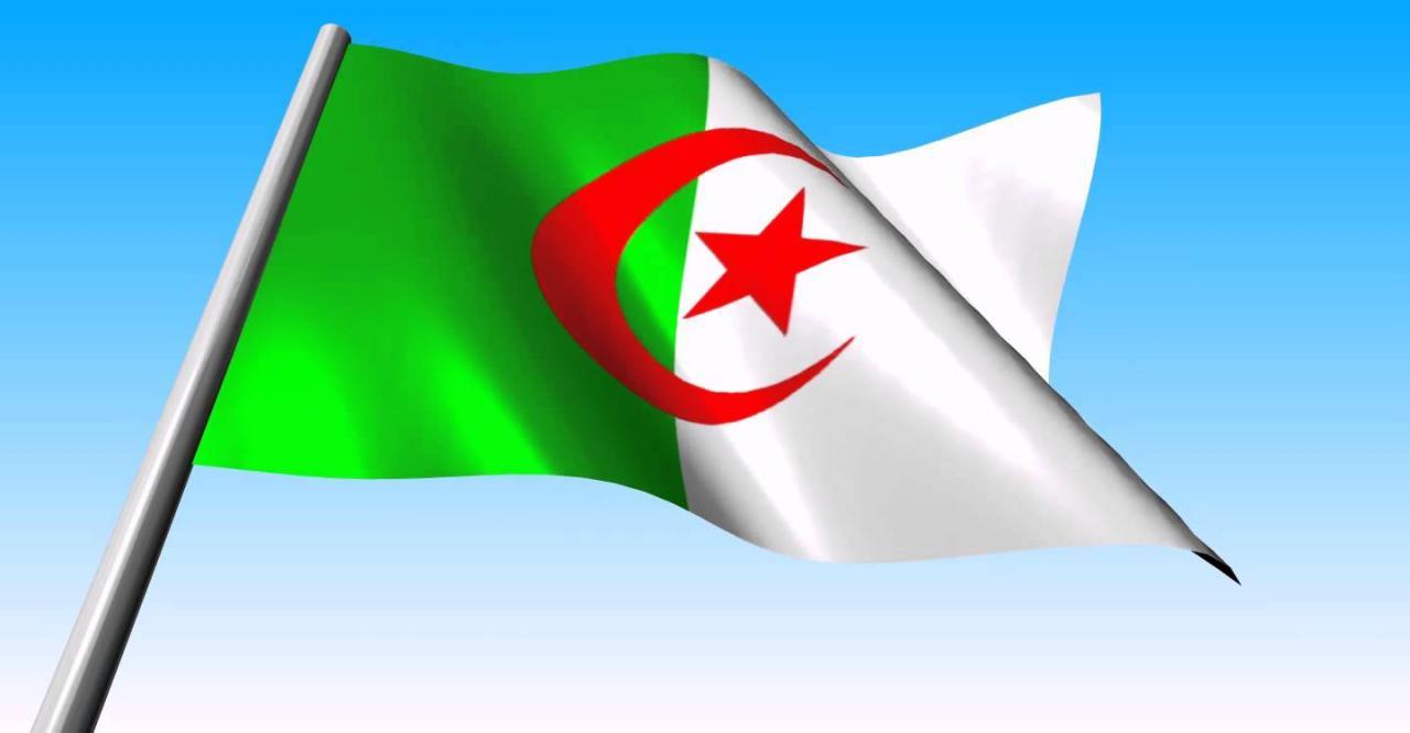 بالصور صور للعلم الجزائري , وصف وشرح العلم الجزائرى 1343 4