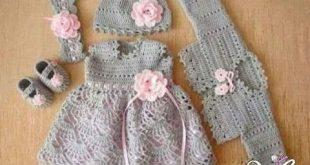 فساتين بنات كروشية , اروع واجمل الفساتين الرقيقة