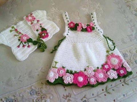 بالصور فساتين بنات كروشية , اروع واجمل الفساتين الرقيقة 170 2
