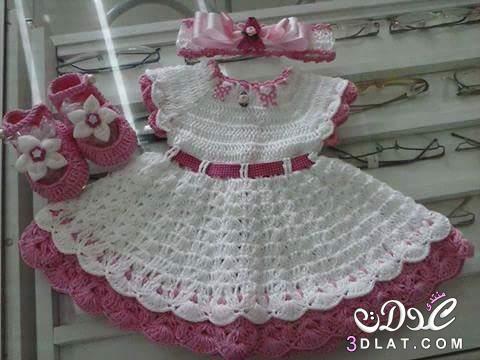 بالصور فساتين بنات كروشية , اروع واجمل الفساتين الرقيقة 170 6