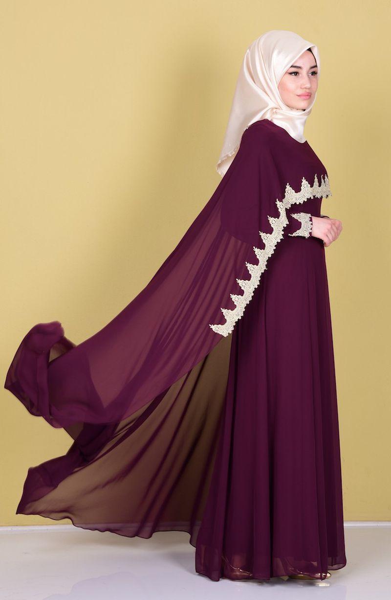 صور ملابس مناسبات للمحجبات , توافق الجمال مع الحجاب بالملابس