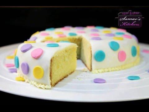 صورة تزيين الكيك بعجينة السكر , اروع واجمل الاكلات الجميلة