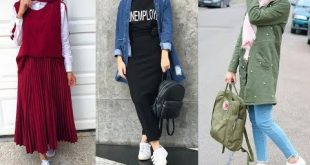 صورة ملابس بنات محجبات 2019 , اروع واجمل الملابس الجميلة 55 12 310x165
