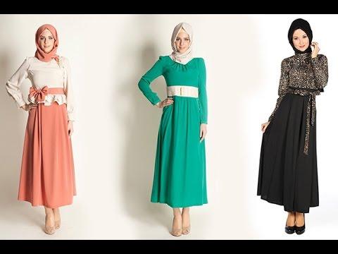 صورة ملابس بنات محجبات 2019 , اروع واجمل الملابس الجميلة 55 8