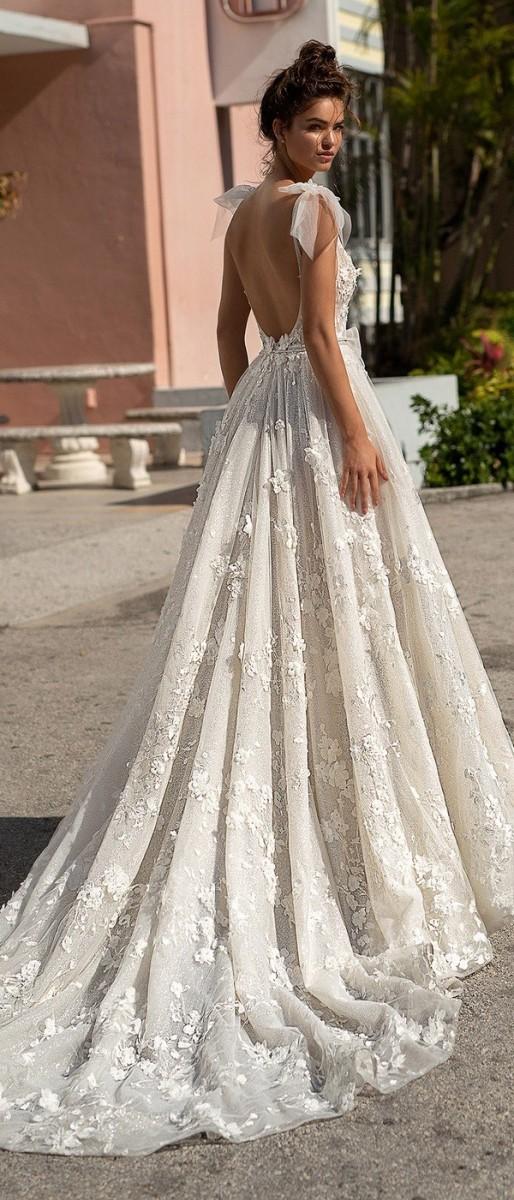 صور موديلات فساتين من الخلف , اجمل تصميمات الفستاين من الخلف