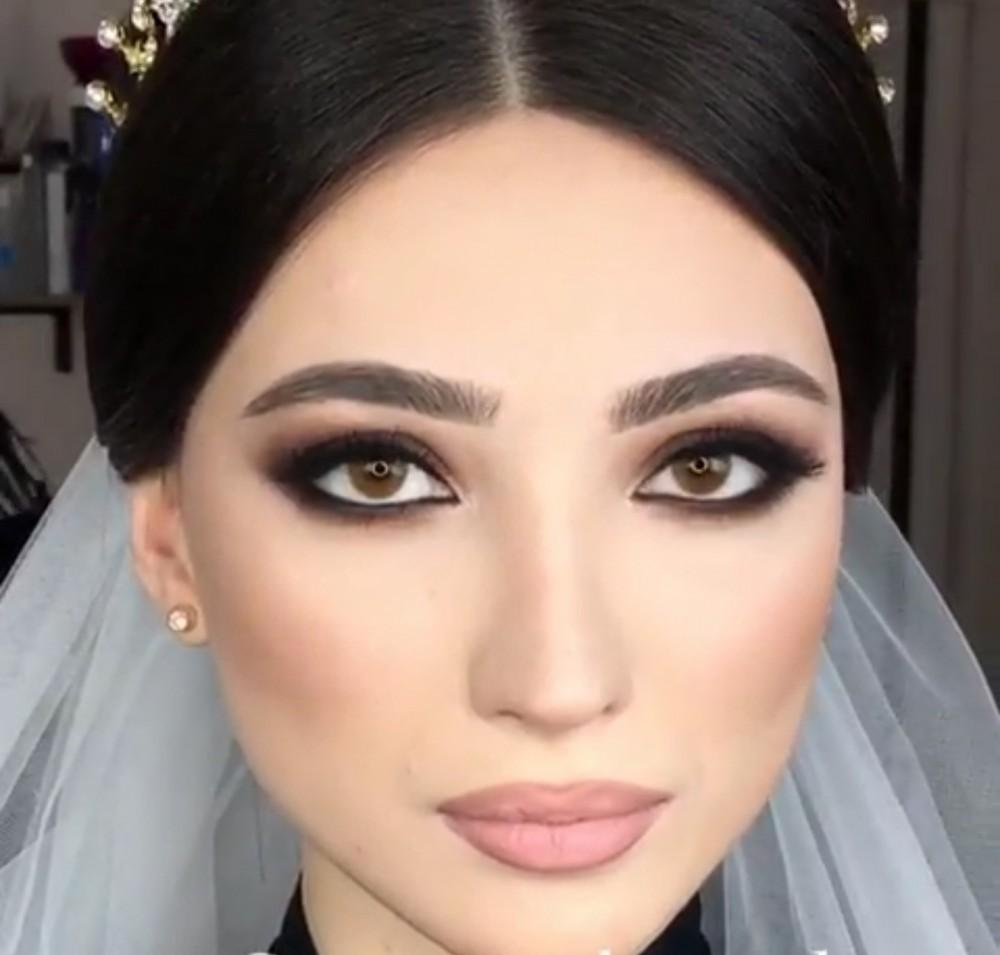 صورة احدث مكياج للعرايس , احلى عروسه بالكونتور