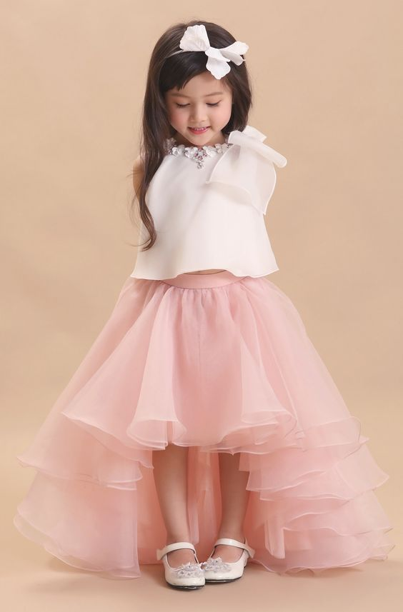 صور صور فساتين سواريه للاطفال , جمال البنت الصغيره بفستان سواريه
